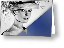 Audrey Hepburn Collection Greeting Card
