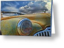 48 Buick Greeting Card