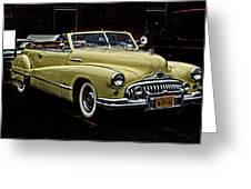 48 Buick Ragtop Greeting Card