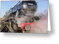 48624 Steam Locomotive Greeting Card
