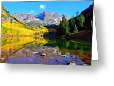 D J Landscape Greeting Card