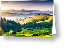 Walls Landscape Greeting Card