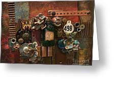 498 Greeting Card