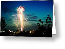 4rth Of July Greeting Card