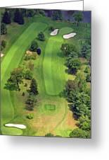 4th Hole Sunnybrook Golf Club 398 Stenton Avenue Plymouth Meeting Pa 19462 1243 Greeting Card