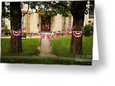 4th Of July Home Greeting Card