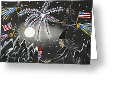 4th Of July Greeting Card by Jeffrey Koss