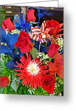 4th Of July Surprise  Greeting Card