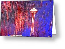 4th Space Needle Greeting Card