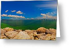 4x1 Bahia Honda State Park Greeting Card