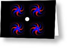 4x4 Greeting Card