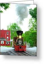 A President's Funeral Train - 3435 Greeting Card