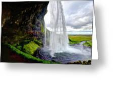 Acrylic Landscape Greeting Card