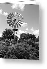 Aermotor Windmill Greeting Card