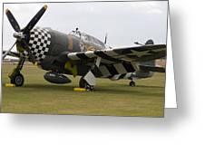 Aircraft Greeting Card