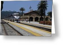 Sheldon Coopers Favorite Train Greeting Card