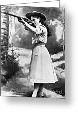 Annie Oakley (1860-1926) Greeting Card by Granger