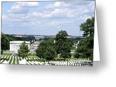 Arlington Cemetery Greeting Card