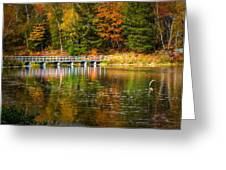 Autumn Season In Killarney Greeting Card