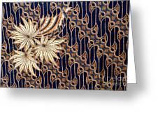 Batik Greeting Card