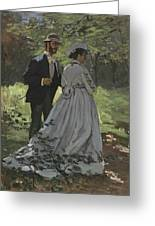 Bazille And Camille Greeting Card