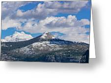 Beauty Of Yosemite Greeting Card
