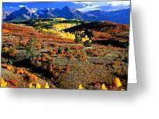 C S Landscape Greeting Card