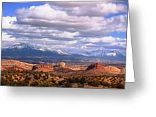 Capitol Reef National Park Burr Trail Greeting Card