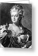 Catherine II (1729-1796) Greeting Card