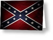 Confederate Flag 8 Greeting Card