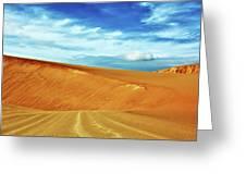 Desert Greeting Card by MotHaiBaPhoto Prints