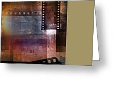 Film Strips 3 Greeting Card