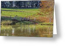 Golden Valley Tree Park Greeting Card
