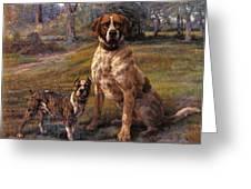 Good Friends Edmund Henry Osthaus Greeting Card