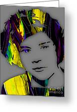Harry Styles Collection Greeting Card