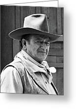 John Wayne Rio Lobo Old Tucson Arizona 1970 Greeting Card