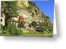 La Roque-gageac Greeting Card