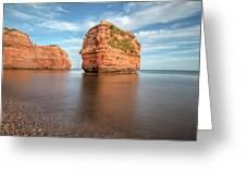 Ladram Bay - England Greeting Card