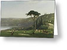 Lake Albano Greeting Card