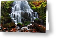 Landscape Framed Greeting Card