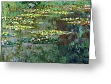 Le Bassin Des Nympheas Greeting Card