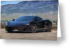 #mclaren #570gt #print Greeting Card