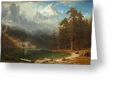 Mount Corcoran Greeting Card