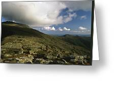 Mount Washington - White Mountains New Hampshire Usa Greeting Card