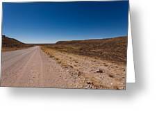 Namibia Road Greeting Card