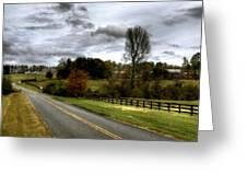Nature Landscape Greeting Card