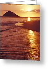Oahu, Lanikai Beach Greeting Card