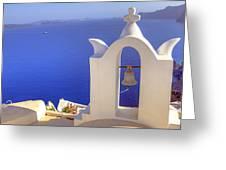 Oia - Santorini Greeting Card by Joana Kruse