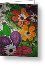 One Stroke Painting Greeting Card