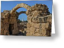 Paphos Archaeological Park - Cyprus Greeting Card